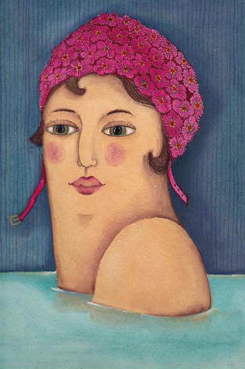 Irrimarra. Mujer baño