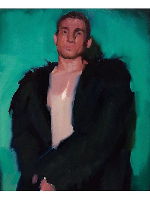 Pascual Rodríguez. Black coat
