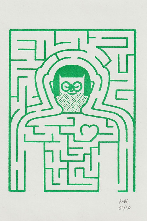 Jose A. Roda. Labyrinth