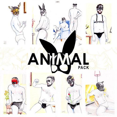 Daniel Santander. Animal Pack