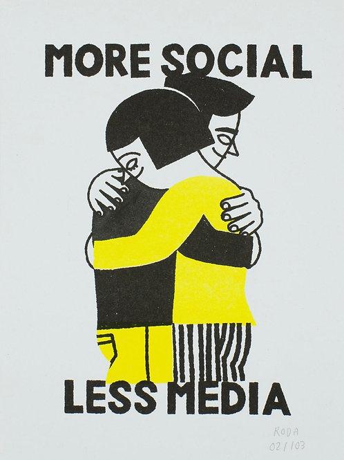 Jose A. Roda. More social less media