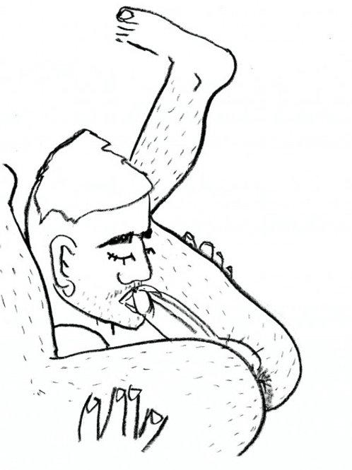 Cachorro Lozano. Selfsuck