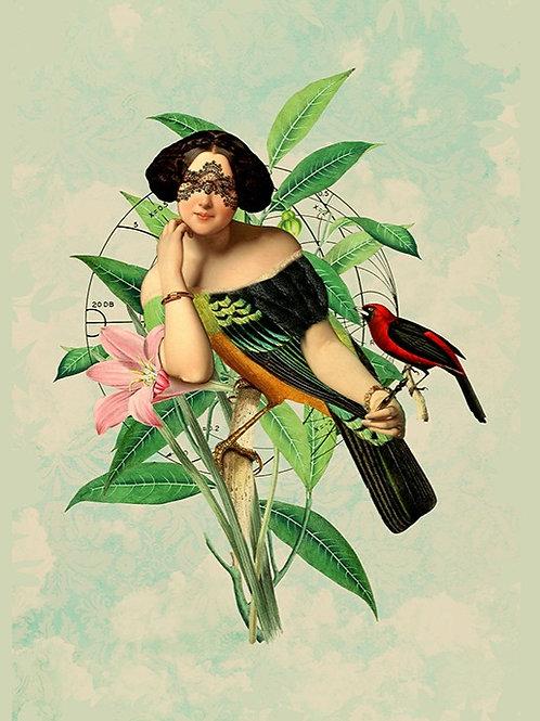 Teresa Cucala. Mujer pájaro