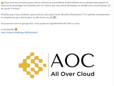 Lancement officiel d'All Over Cloud
