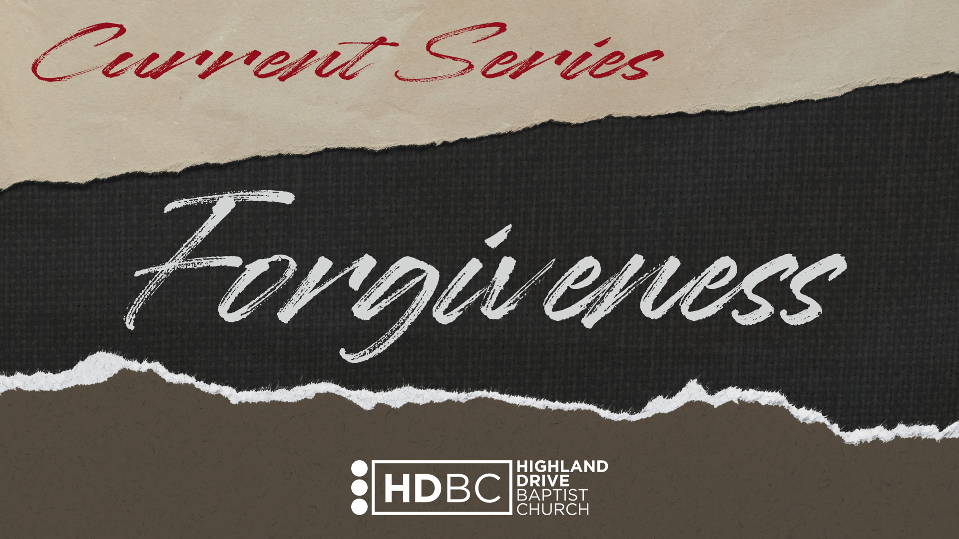 Forgiveness Wide Current Series