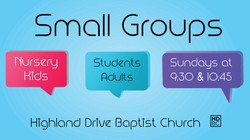 Small Group Times