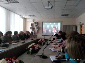 Представители сферы образования Перевальского района приняли участие в видеоконференции с ОГБУ ДПО «
