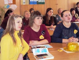 Совместный семинар в ГОУ ЛНР «Селезнёвская школа № 18»