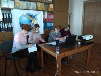 Скайп конференция с Министром образования и науки ЛНР