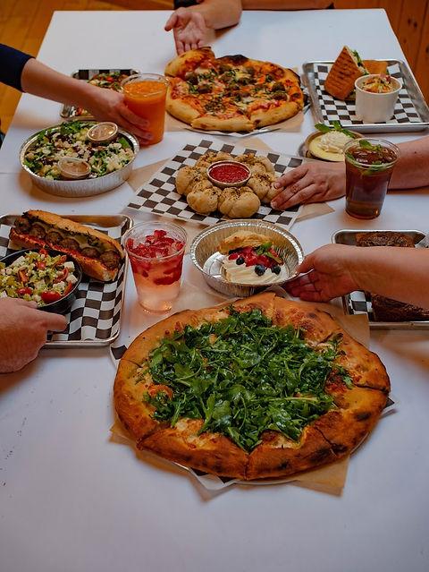 pizza pasta dessert salad.jpg