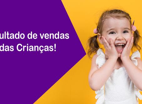 Dia das crianças gera 7 milhões de pedidos via e-commerce
