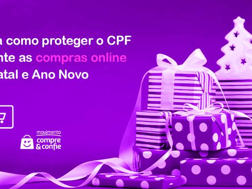 Saiba como proteger o CPF durante as compras de Natal e Ano Novo no e-commerce