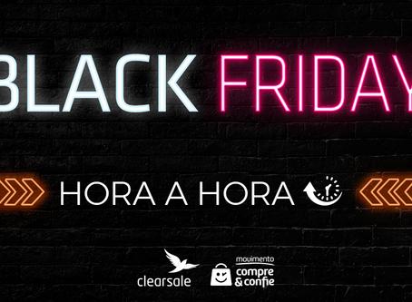 Black Friday: Resultados do e-commerce de hora em hora