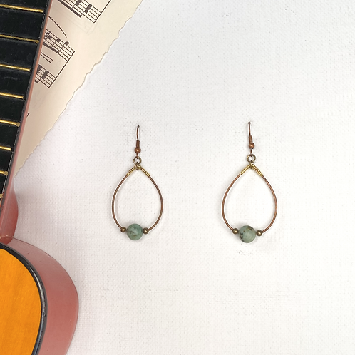 African Turquoise and Guitar Strings