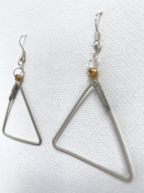 Guitar string triangles