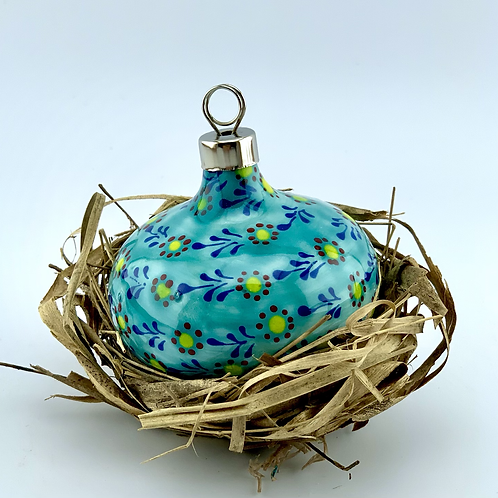 Turquoise ornament