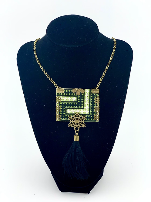 Handmade Balochi needlework Necklace