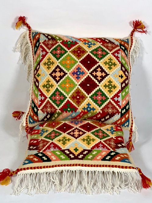 Kurdish Kilim Pillow set of 2