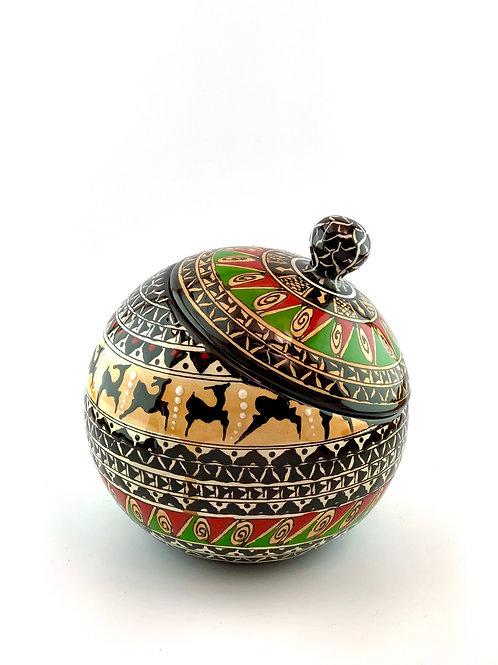 Historical design cookie jar
