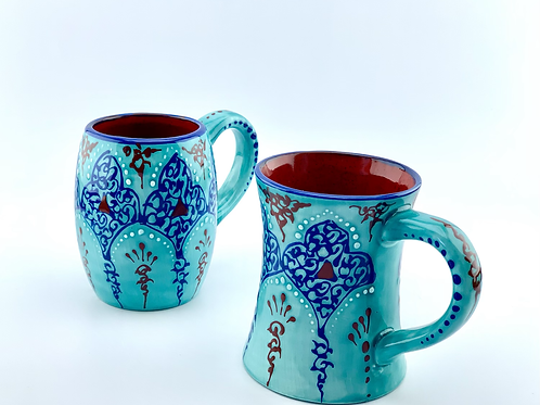 Turquaze mug set for couples