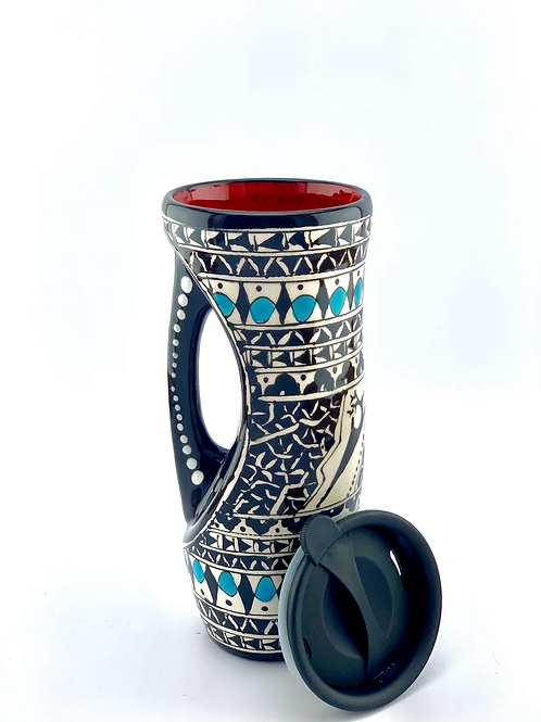 Historical design to go mug