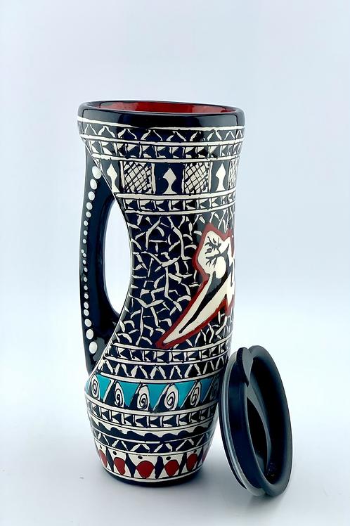 Hysterical design to go mug