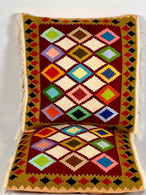 Kurdish Kilim Pillow set of 2