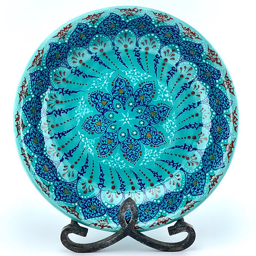 Traditional Turquoise designed bowl