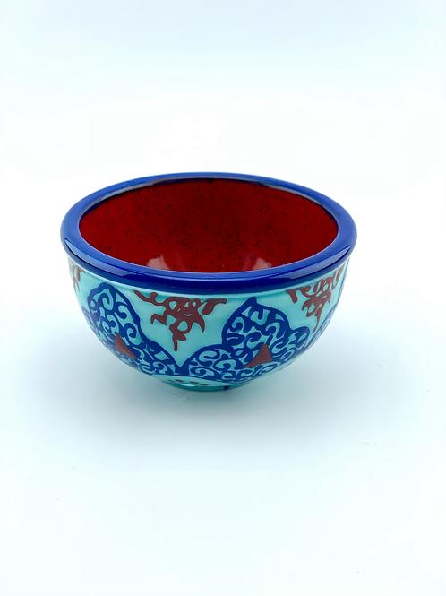 Mini bowl Turquoise design