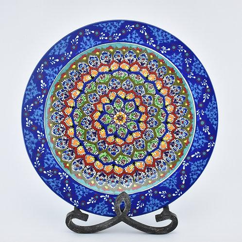 ceramic plate.