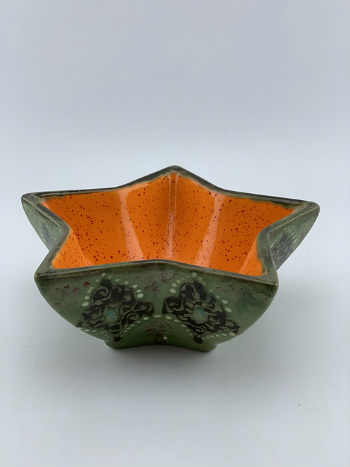 Green star bowl