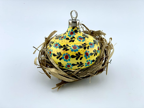 Yellow ornament