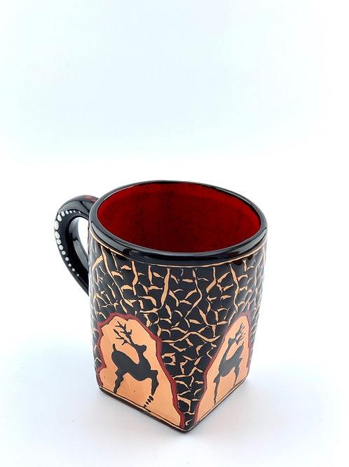 Historical design coffee mug