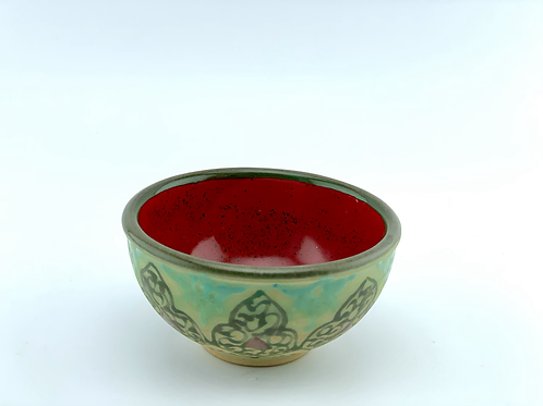 Mini bowl Green design