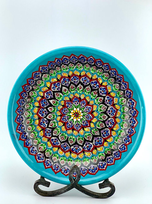 Garden designed bowl
