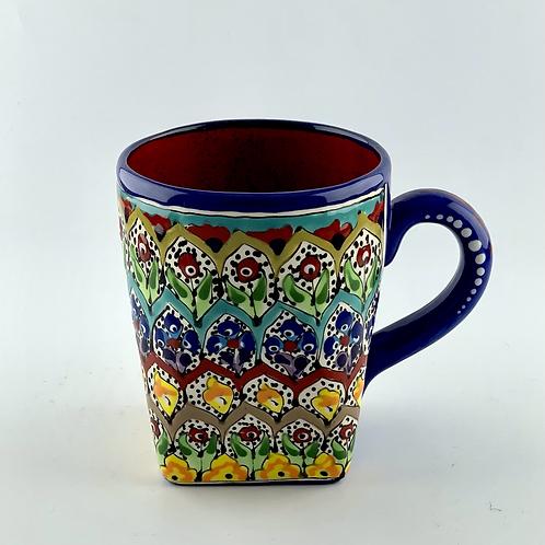 Garden designed mug