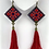 Thumbnail: Handmade Balochi needlework Earring