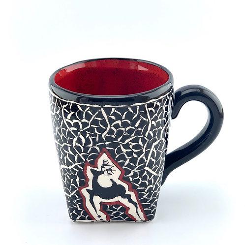 Historical designed mug