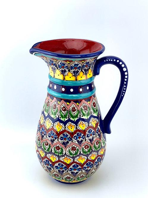 Garden designed pitcher