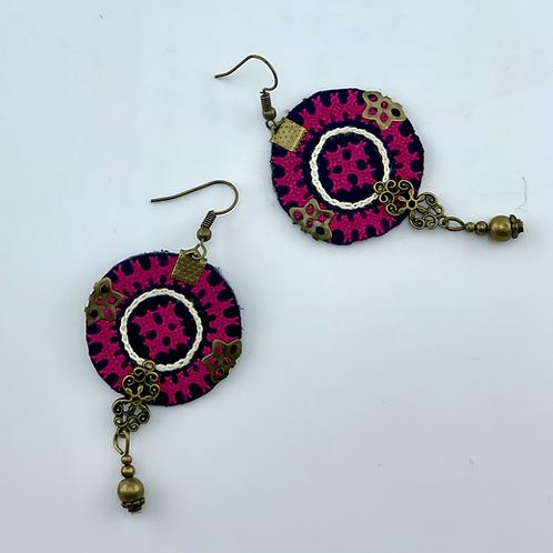 Handmade Balochi needlework Earring