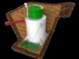 Монтаж песколовок, кессонов, очистных сооружений