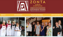 New Look Website for Zonta Kyneton