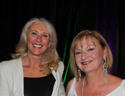 Tracey Spicer with ZCK President Carolyn Dennis