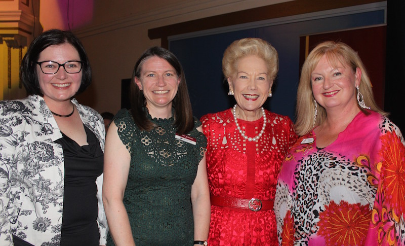 at the IWD Dinner at Kyneton Lisa Chesters MP, Mayor Jennifer Anderson, Dr Susan Alberti AC Kyneton