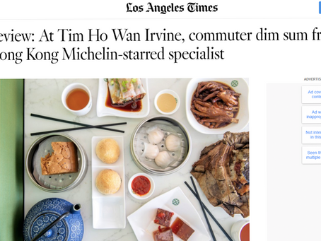Los Angeles Times Review of Tim Ho Wan