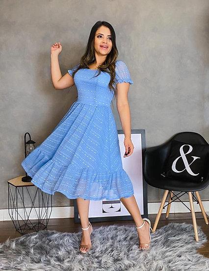 Vestido Serena Azul Serenity