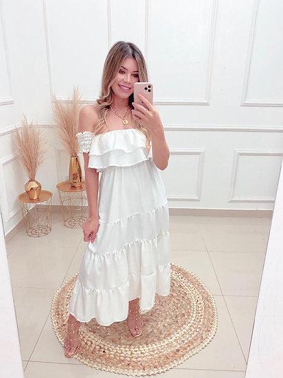 Vestido Dayana Branco