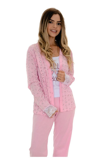 Pijama 3 Peças