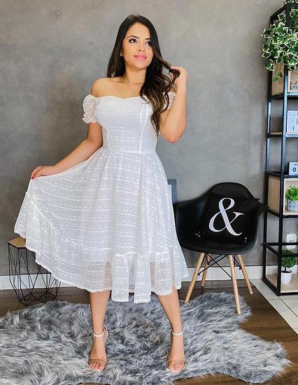 Vestido Serena Branco