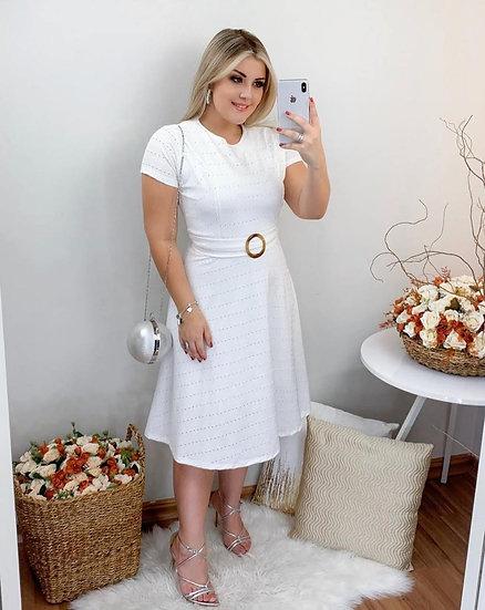 Vestido Ágata Branco